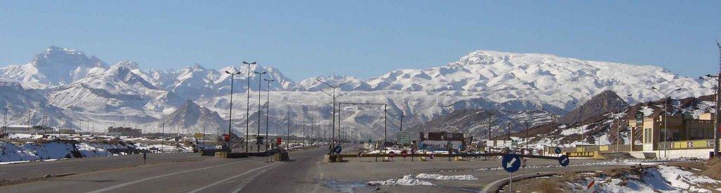 continuum mountain shir koh رشته کوه شیر کوه, Марагех
