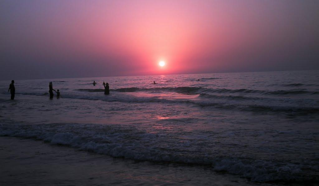 غروب دریا, Бабол