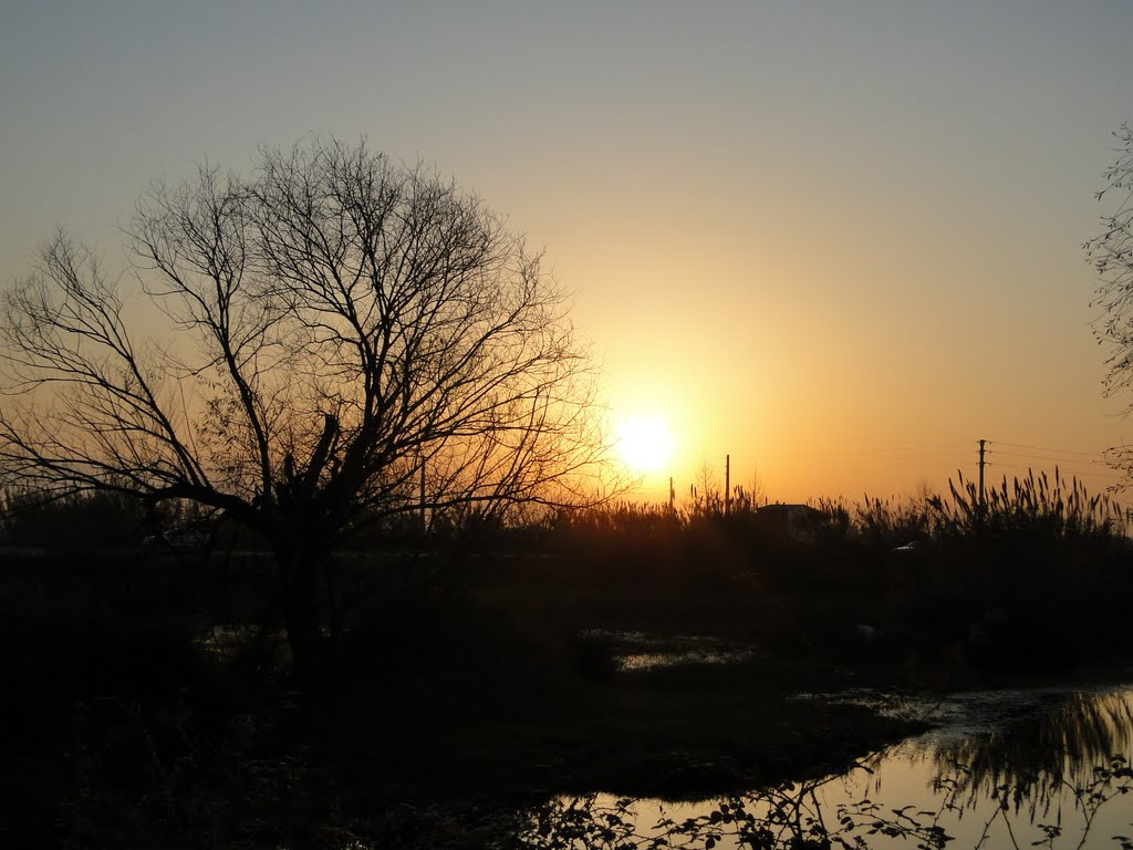 sunset  غروب, Бабол