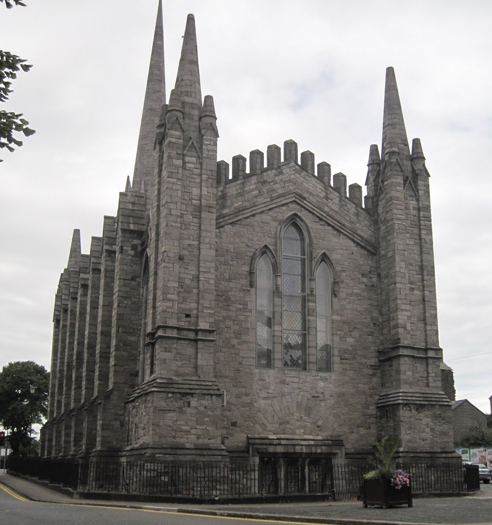 Saint Marys Chapel of Ease ( The Black church ) Broadstone Dublin City built in 1830 designed by John Semple, Дан-Логер