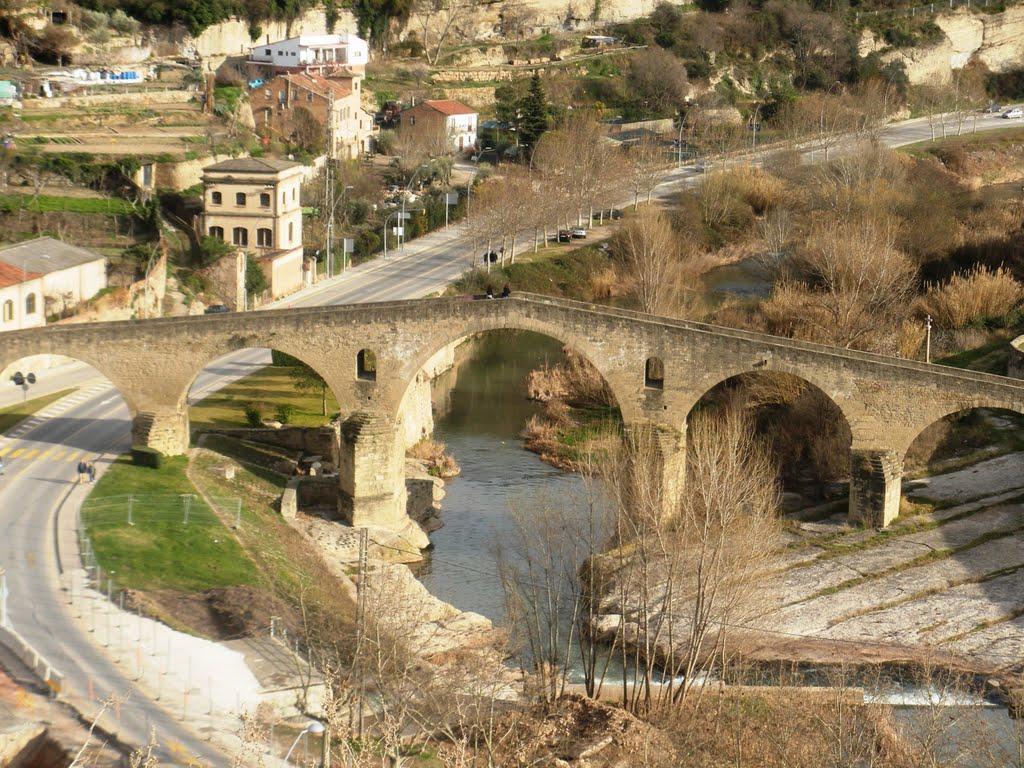 31.Manresa, Pont sobre el Cardener, Манреса