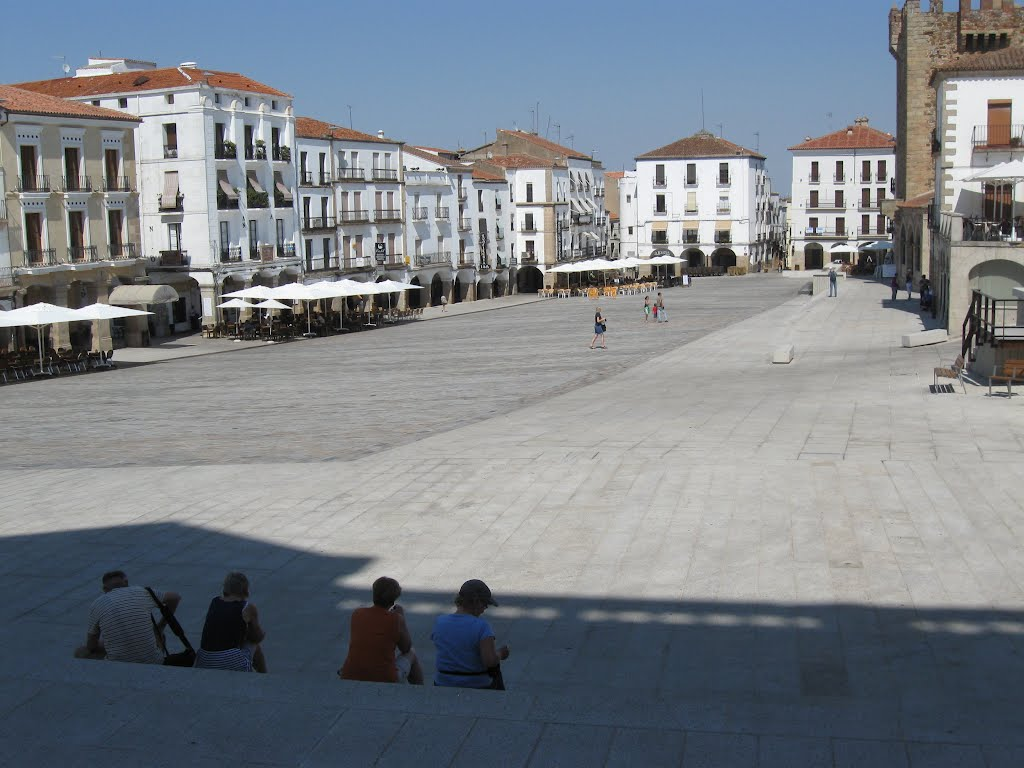 Plaza Mayor, Cáceres , Spain, Касерес
