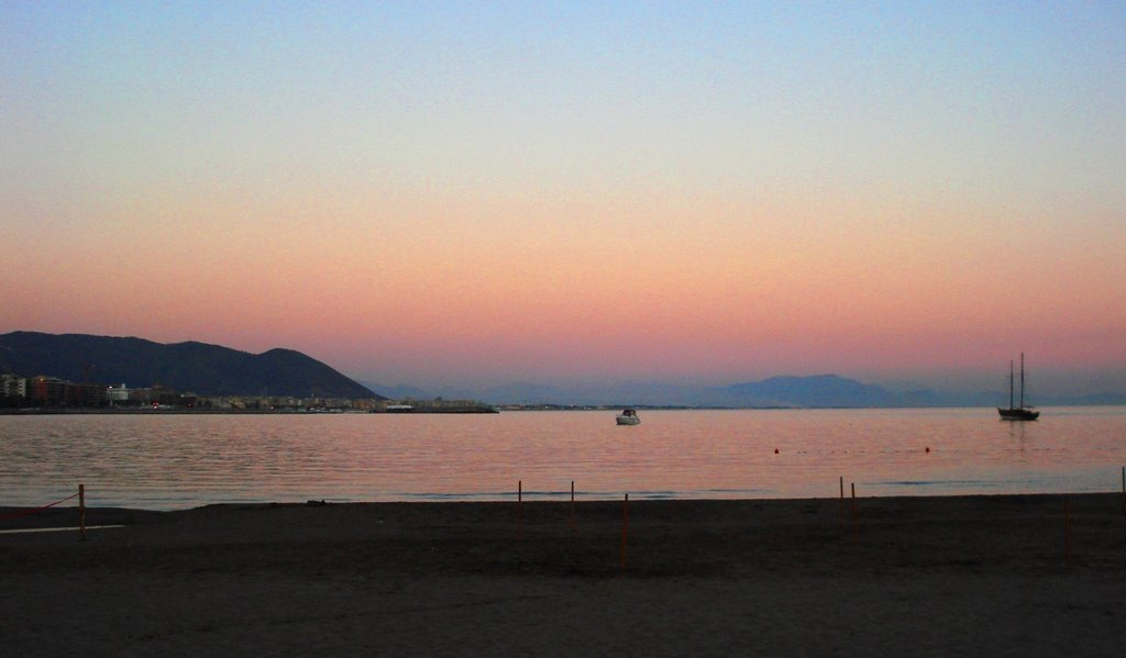 Salerno Santa Teresa - Tramonto, Салерно