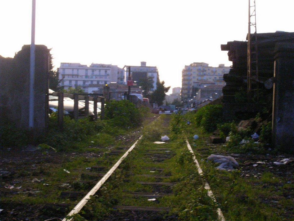 Catania Ferrovia Circumetnea fine, Катания