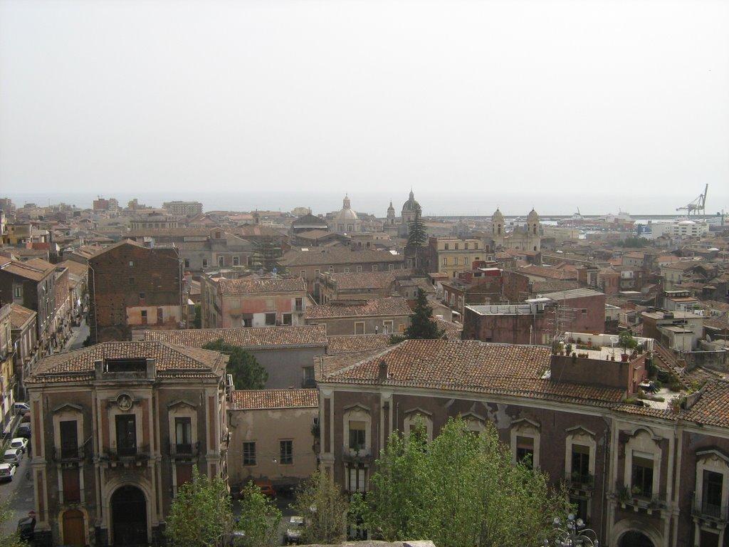 Dante square ( up view ), Катания