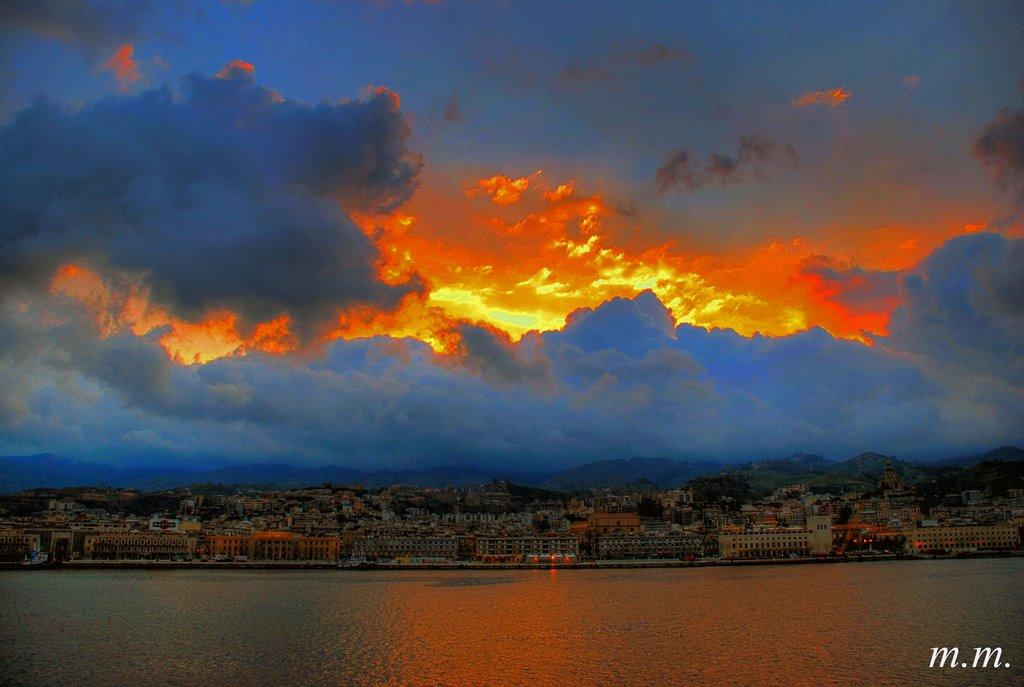 Messina fiammeggiante, Мессина
