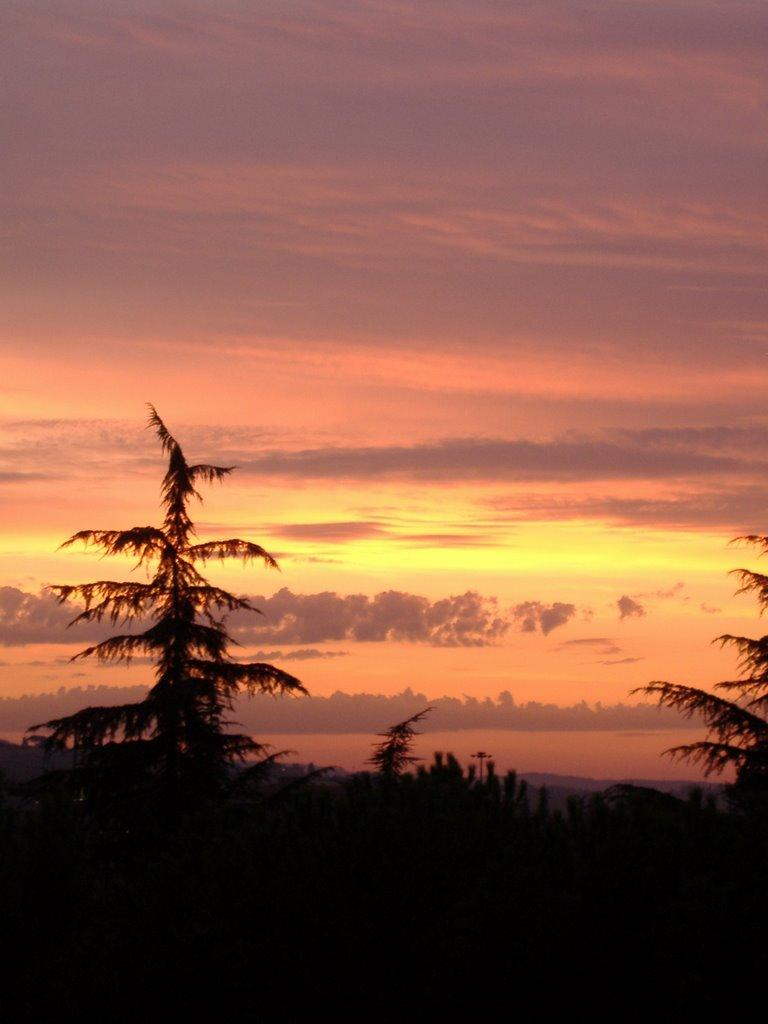 tramonto, Пистойя