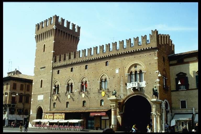 Palazzo Municipale (Ferrara), Феррара