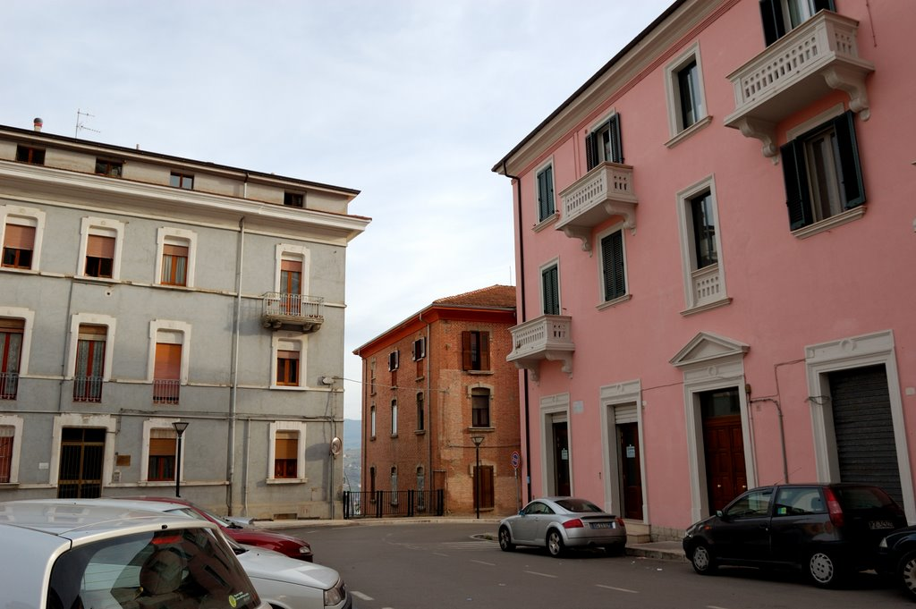 Potenza, piazza Crispi, Потенца