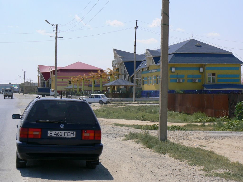 "Kulsary. Hotel ""Bakay""., Кульсары"