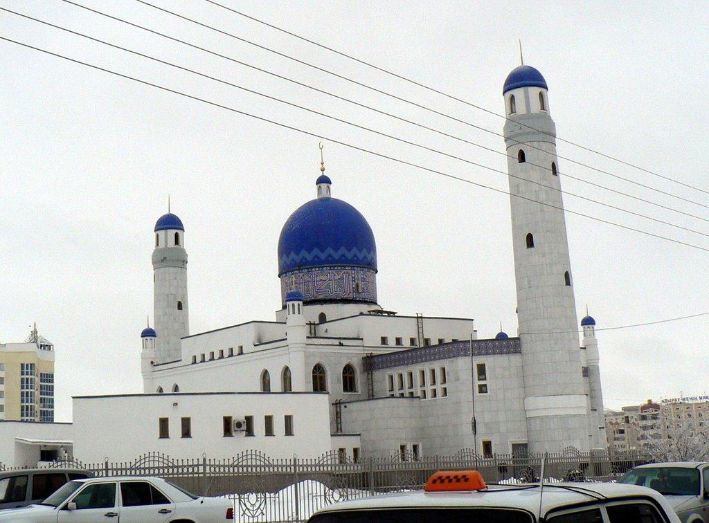 Atyrau mosque, Ойтал