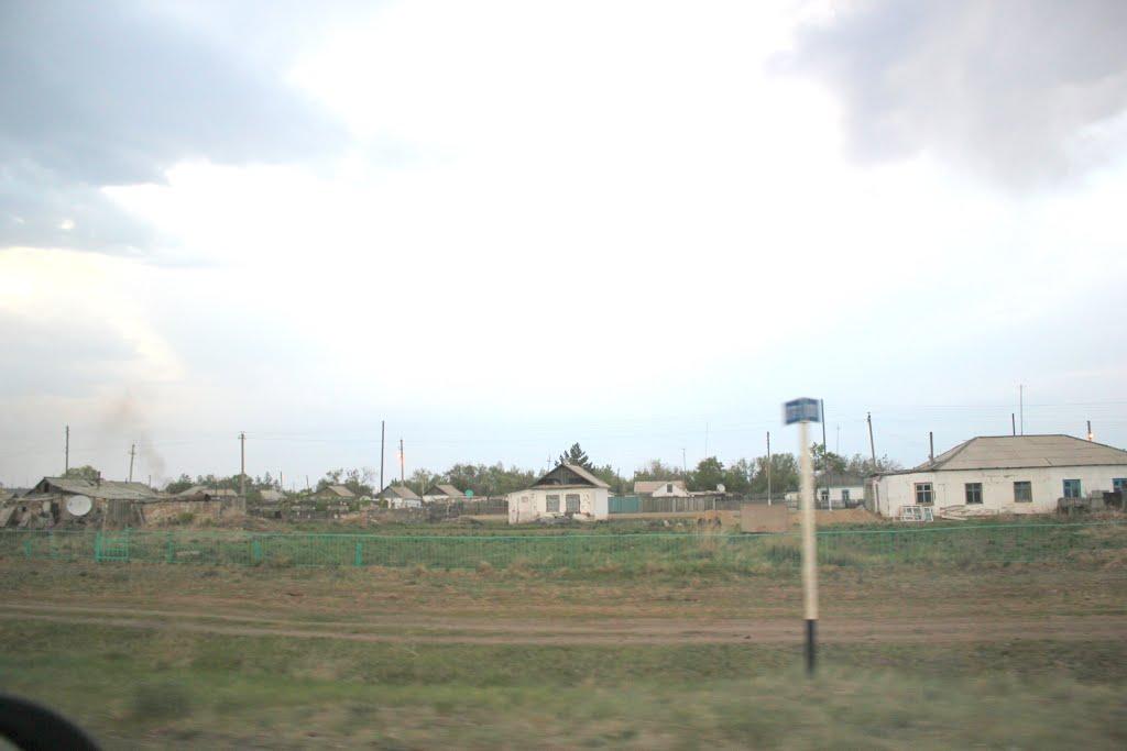 2014_05_16 вид на поселок, Актогай