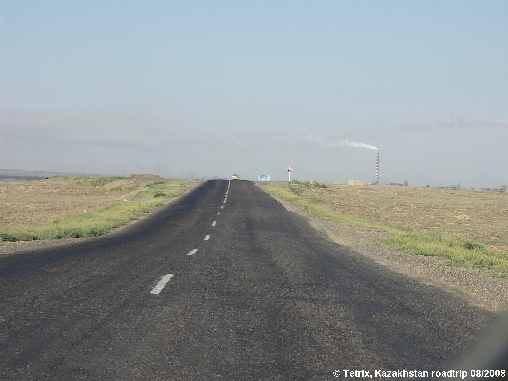 Road A344 Karaganda-Zhezkazgan, Восточно-Коунрадский