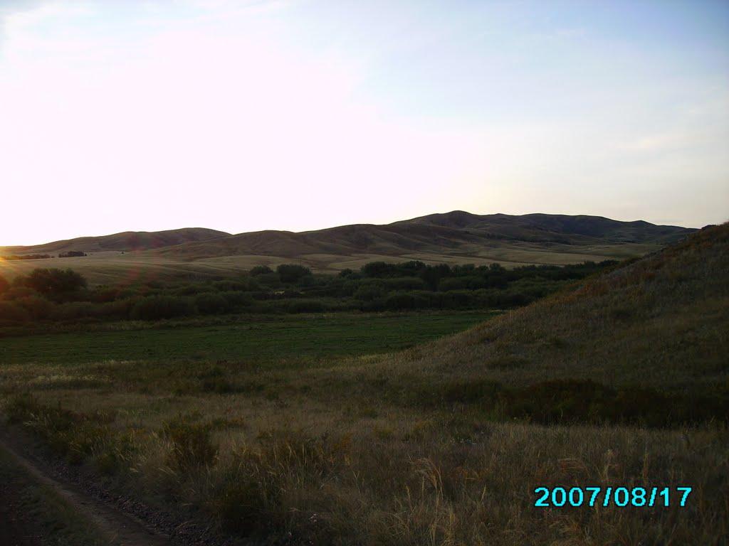 Степь и горы, Карагайлы