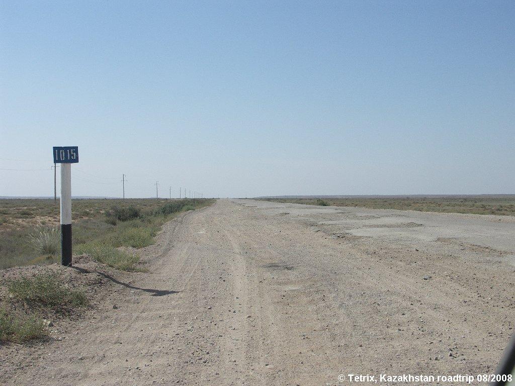 Road A344 Zhezkazgan-Kyzylorda, Аралсульфат
