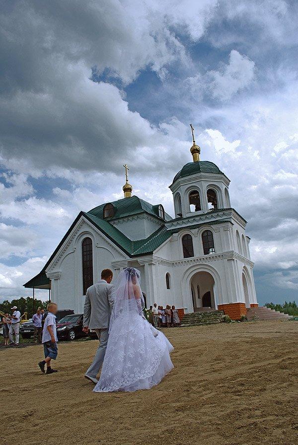 церковь, венчание (wedding, schurch), Ауэзов