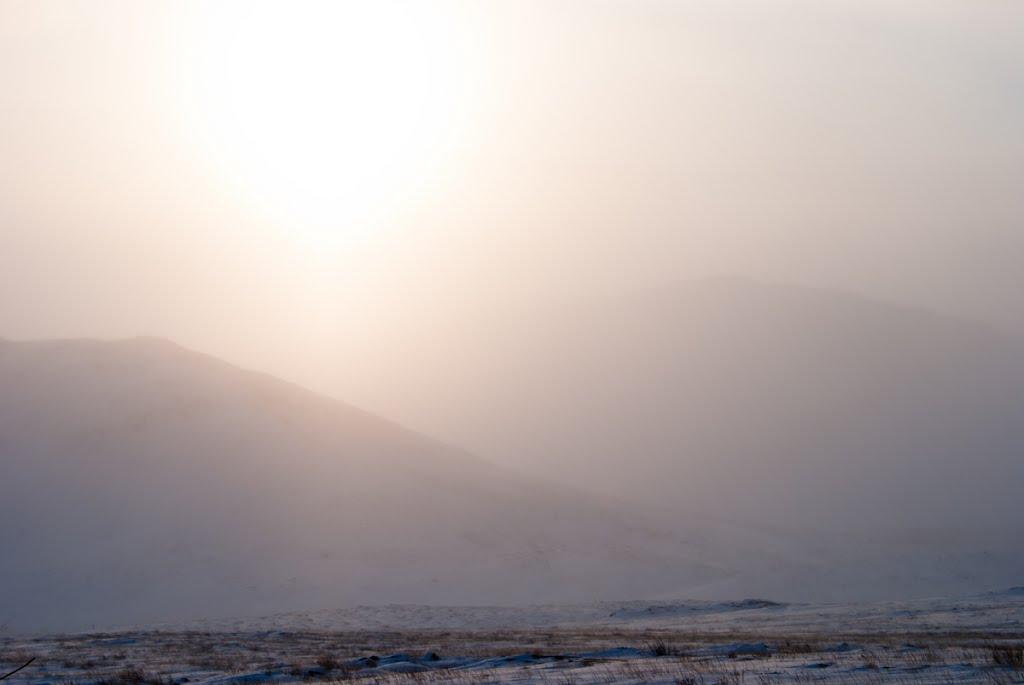 Снежный буран//Ice storm, Семипалатинск