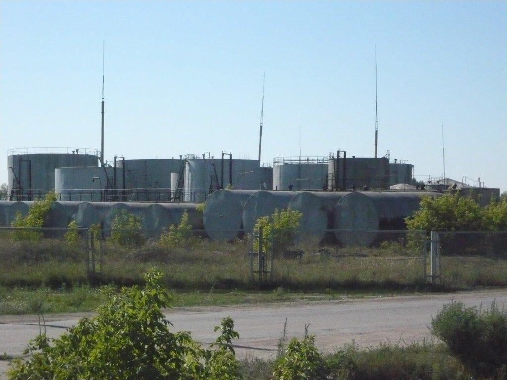 Нефтебаза, Макинск
