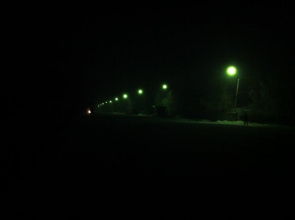 на улице Клубной, Макинск