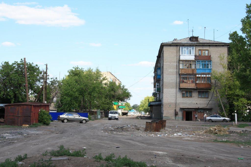 ул.Матросова, Атбасар