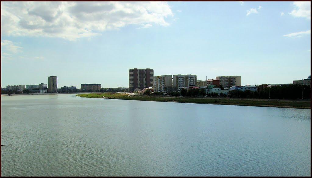 Атырау. Река Урал, Атырау