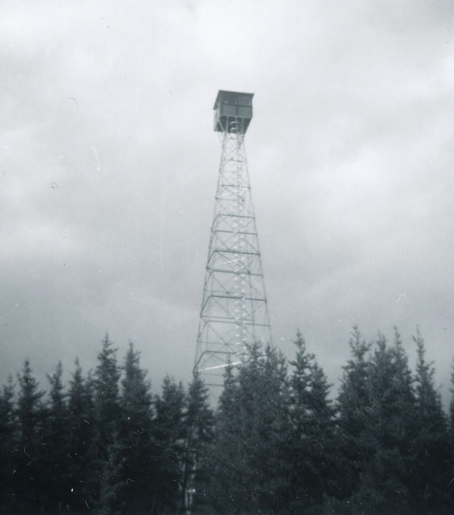Longlac Fire Tower - 1962, Маркхам