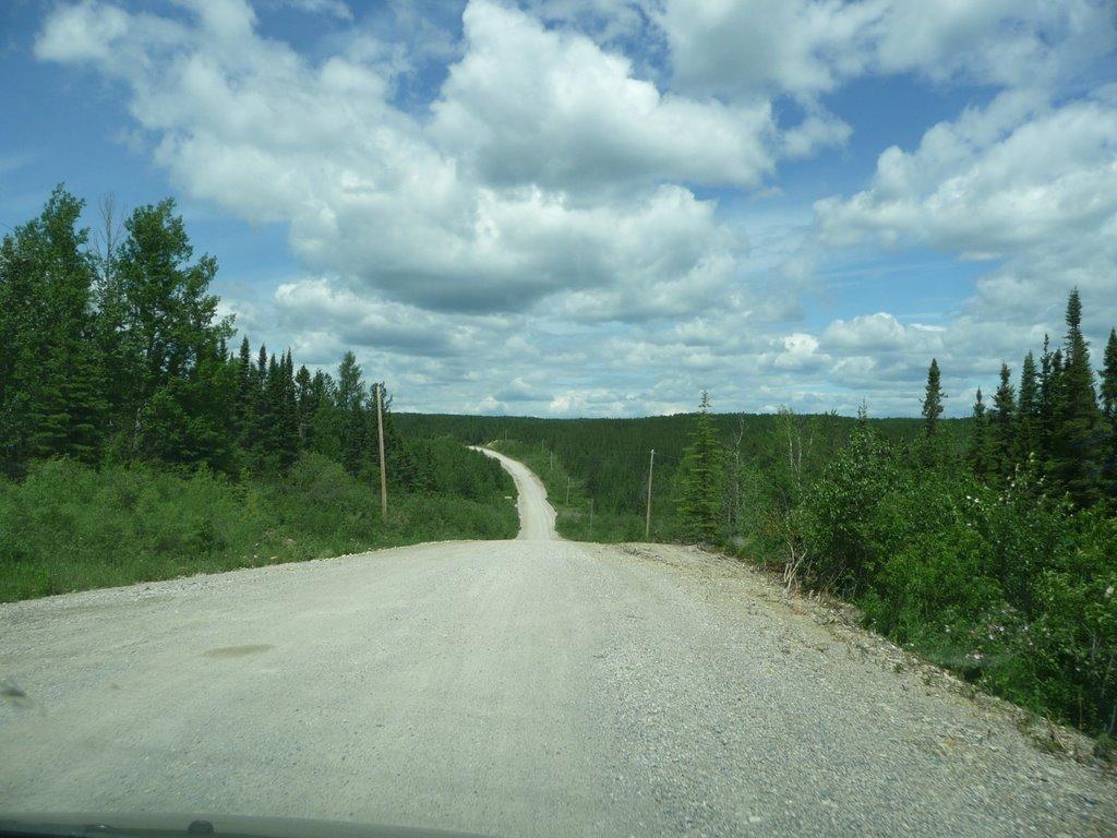 Logging road north of Manitouwadge, Овен-Саунд