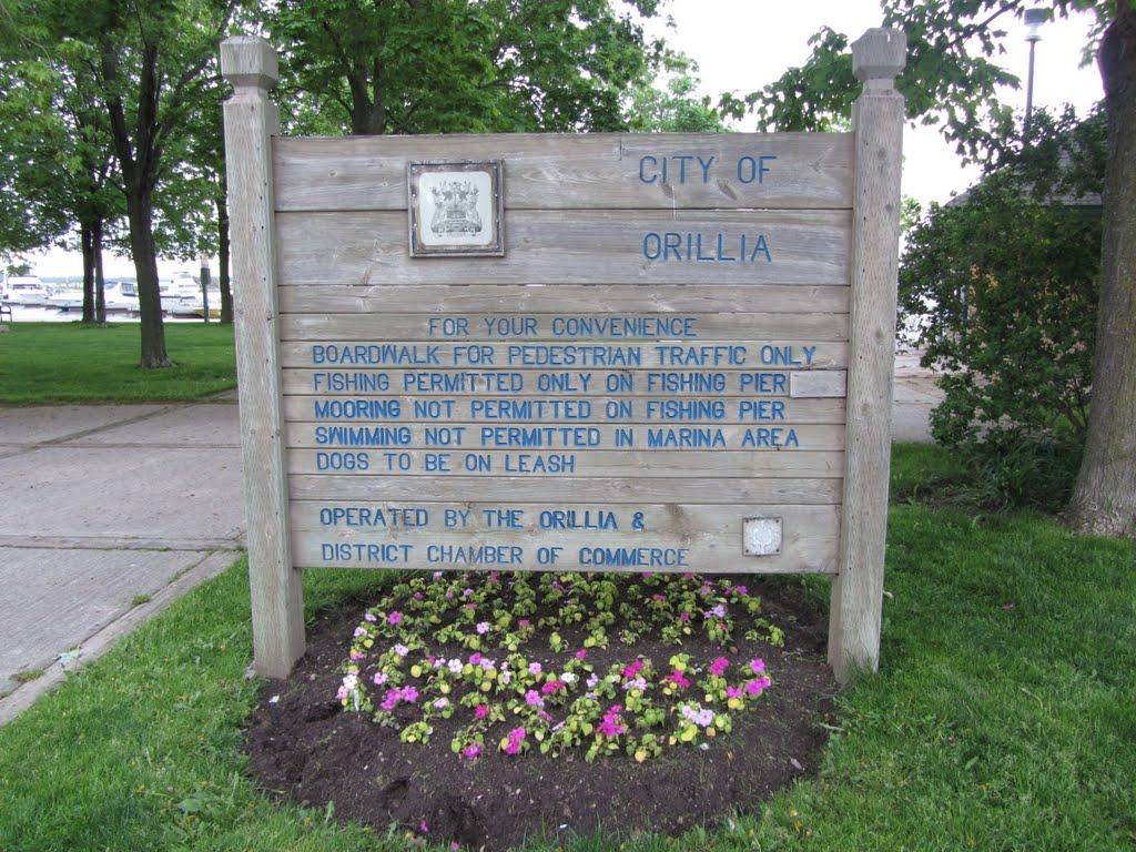 City of Orilliia, ON Pier, Ориллиа