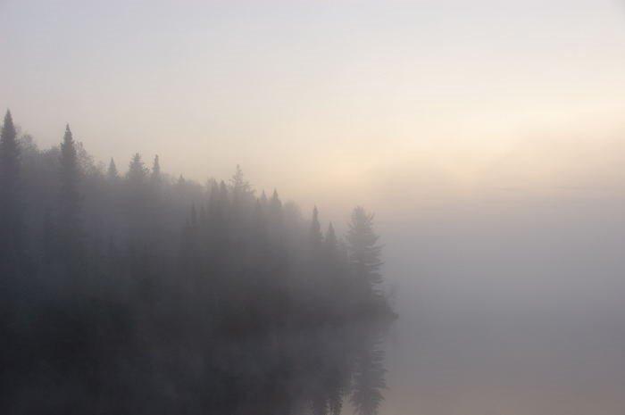 Morning fog, Садбури