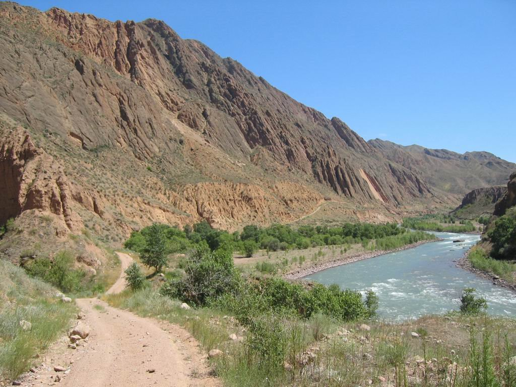 Kekemeren river, Ат-Баши
