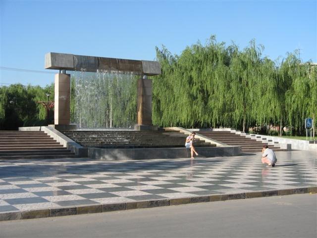 团结广场(Tuanjie Square), Баотоу