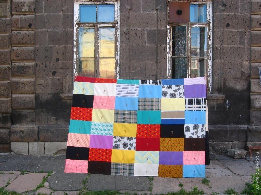 Drying rug, Гюмри