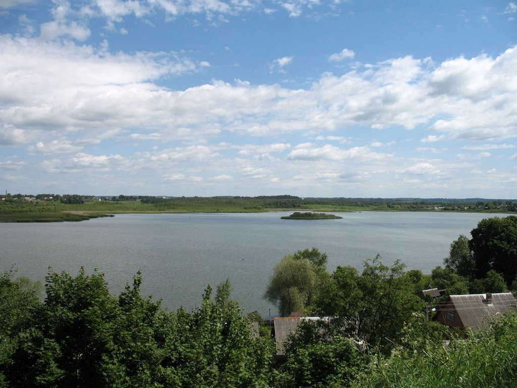 Naviata Lake in Braslaŭ, Браслав