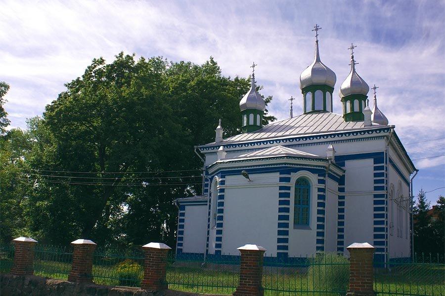 Othodox church of the Assumption in Braslaw, Браслав