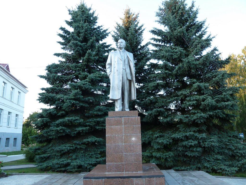 Braslav, Belarus   Lenin, Браслав