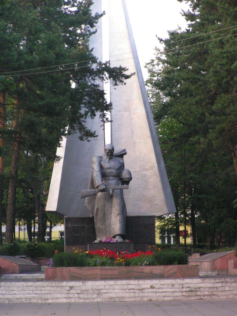 WW2 monument, Браслав