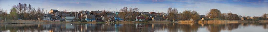 вид на северный берег, Браслав