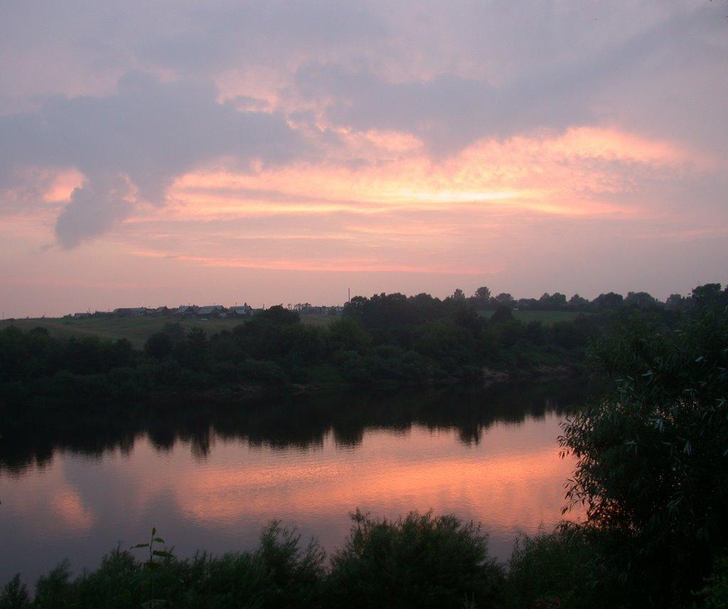 Verhnedvinsk Sunset, Верхнедвинск