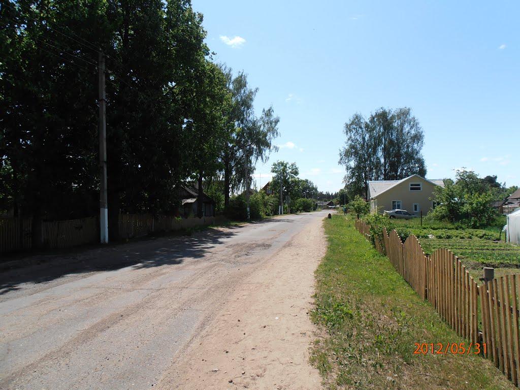 улица Карла Маркса., Верхнедвинск