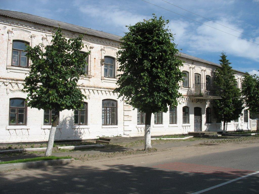 Будынак з балконам., Видзы
