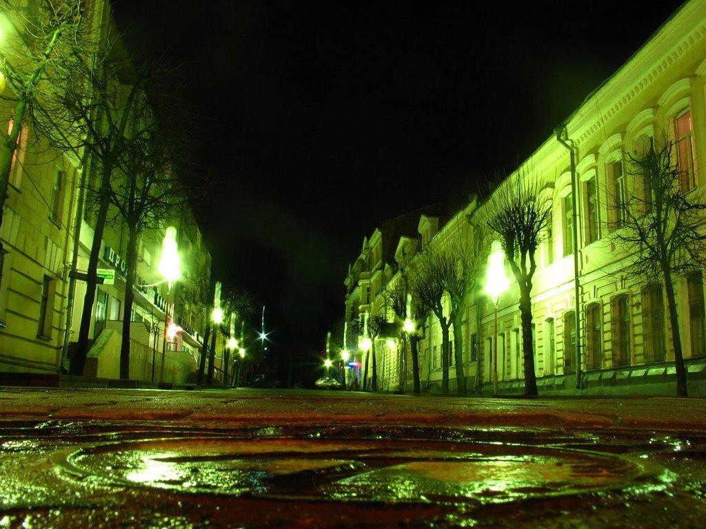 Savieckaja street in Viciebsk, Витебск