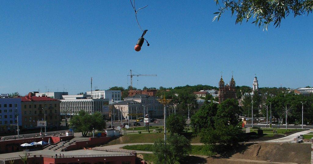View to Viciebsk from Duchavaja Hill, Витебск