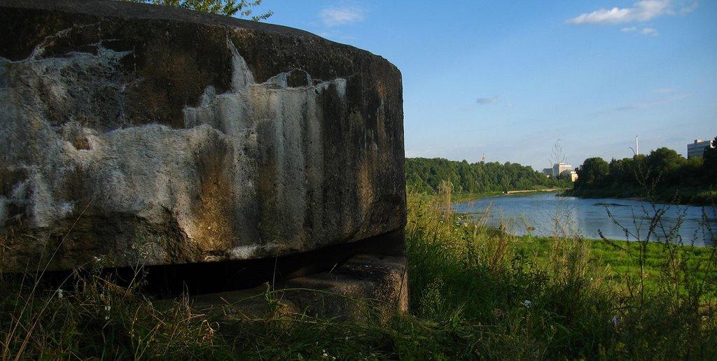 Remainder of WW2 above Dźvina river, Витебск