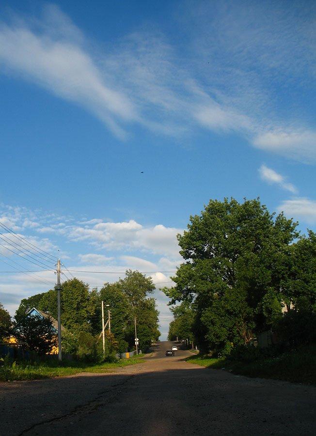 Pieskavacik district in Viciebsk, Hrybajedava street (2nd Vietranaja), Витебск