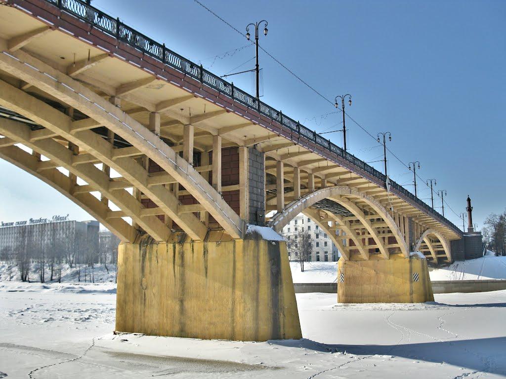 bridge over the Dvina, Витебск