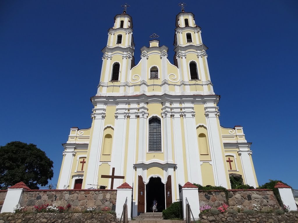 Holy Trinity catholic church / kaścioł Najśviaciejšaj Trojcy (1764–1782), Глубокое