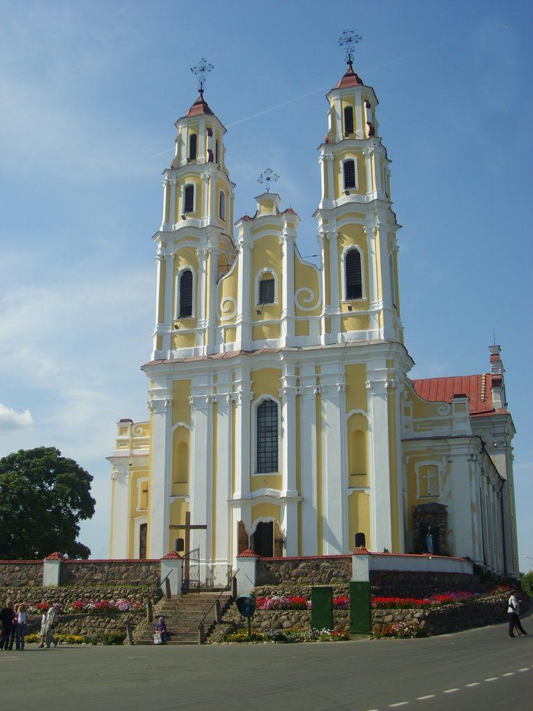 Glubokoe.Church of Holy Trinity, Глубокое