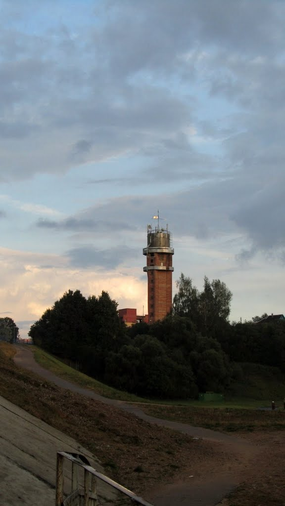 Водонапорная башня (Городок, 2010) - Water tower (Gorodok Town, 2010), Городок