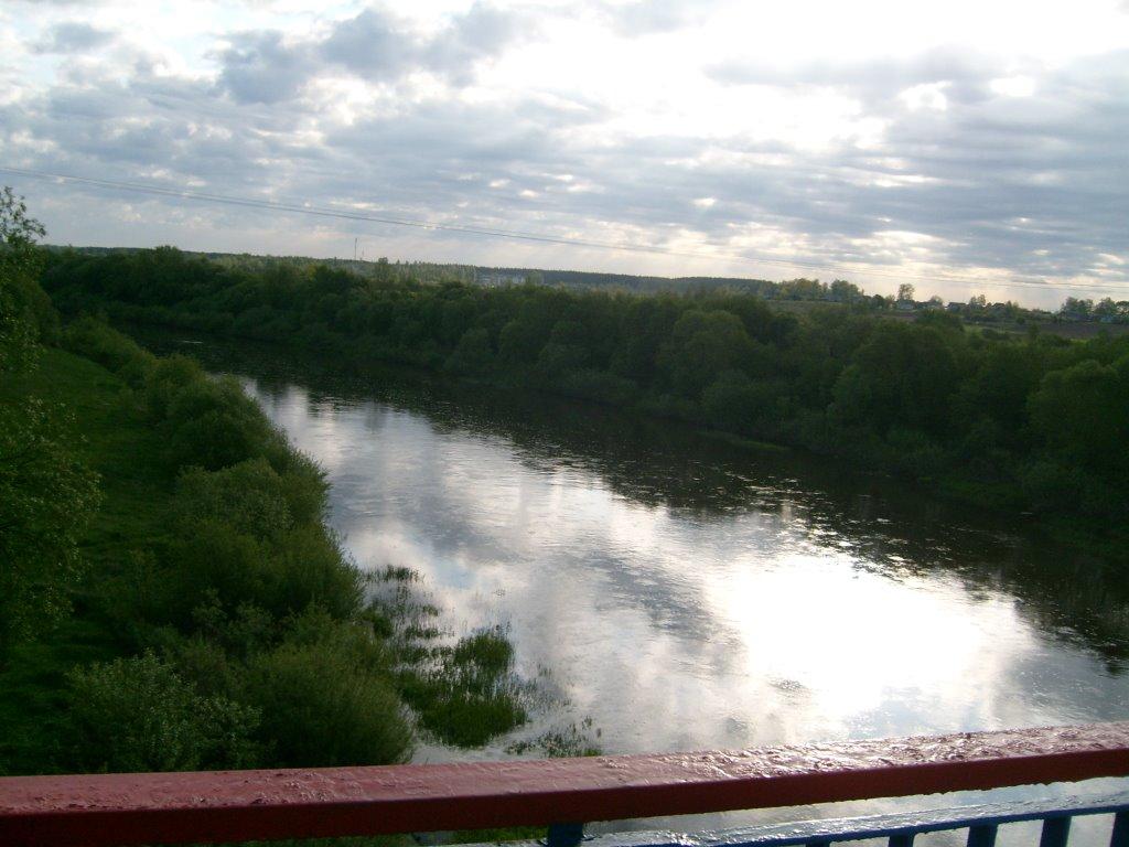 The river Disna, Дисна