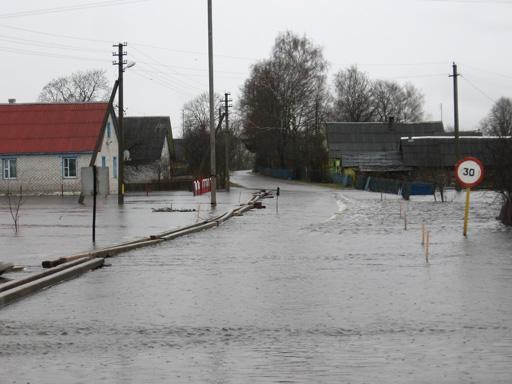 Наводнение в Дисне, весна 2010, Дисна